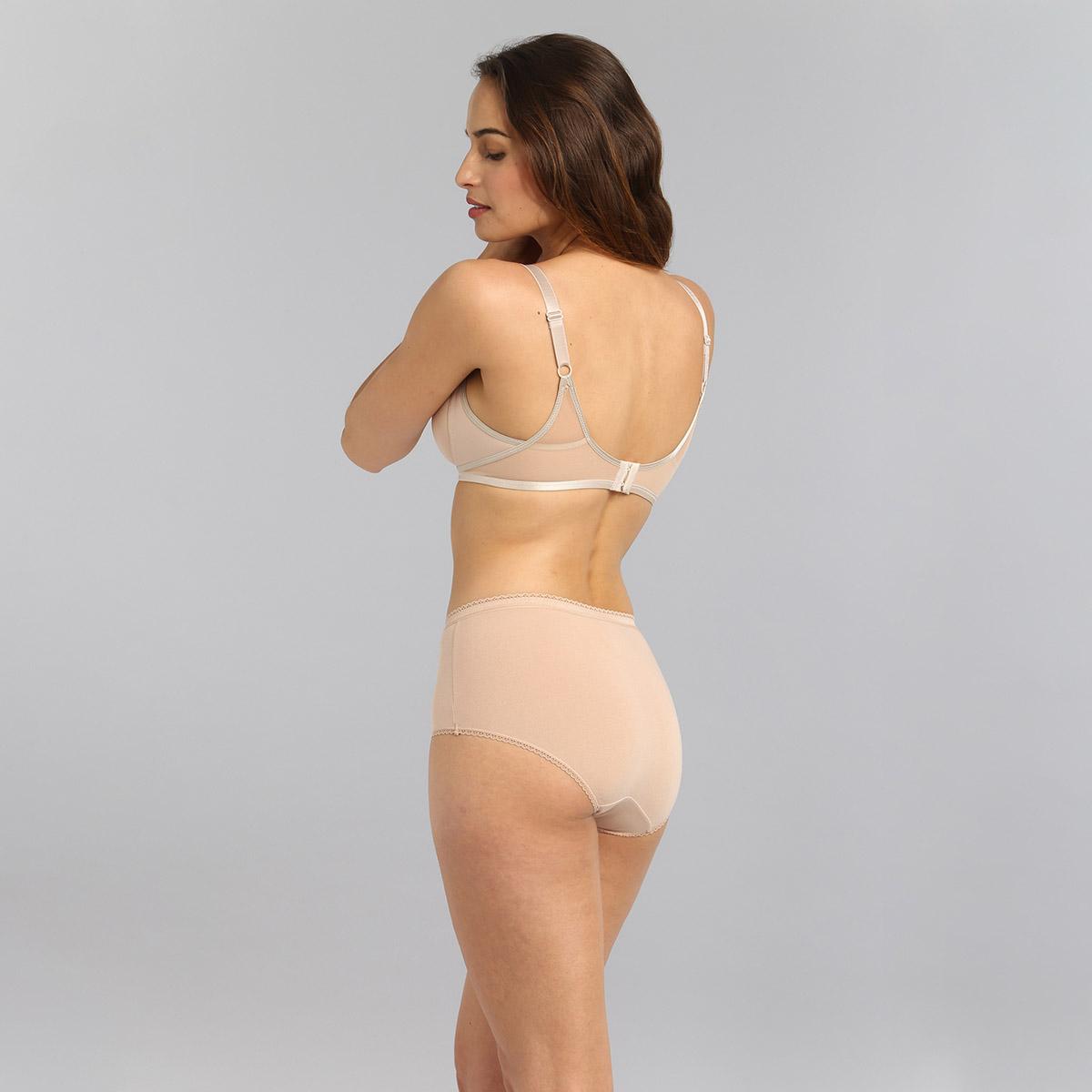 Soutien-gorge emboîtant sans armatures beige Ideal Beauty, , PLAYTEX