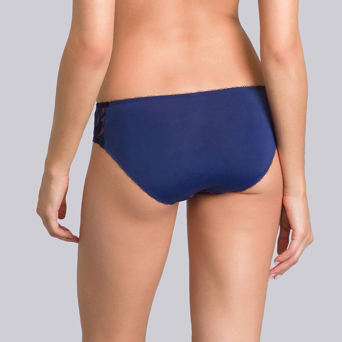 Culotte Mini bleue imprimé corail - Daily Elegance-PLAYTEX