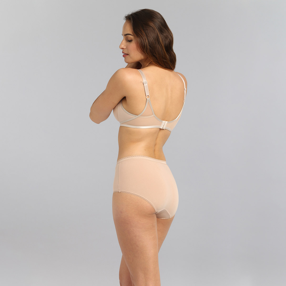 Soutien-gorge emboîtant sans armatures beige Ideal Beauty, , PLAYTEX