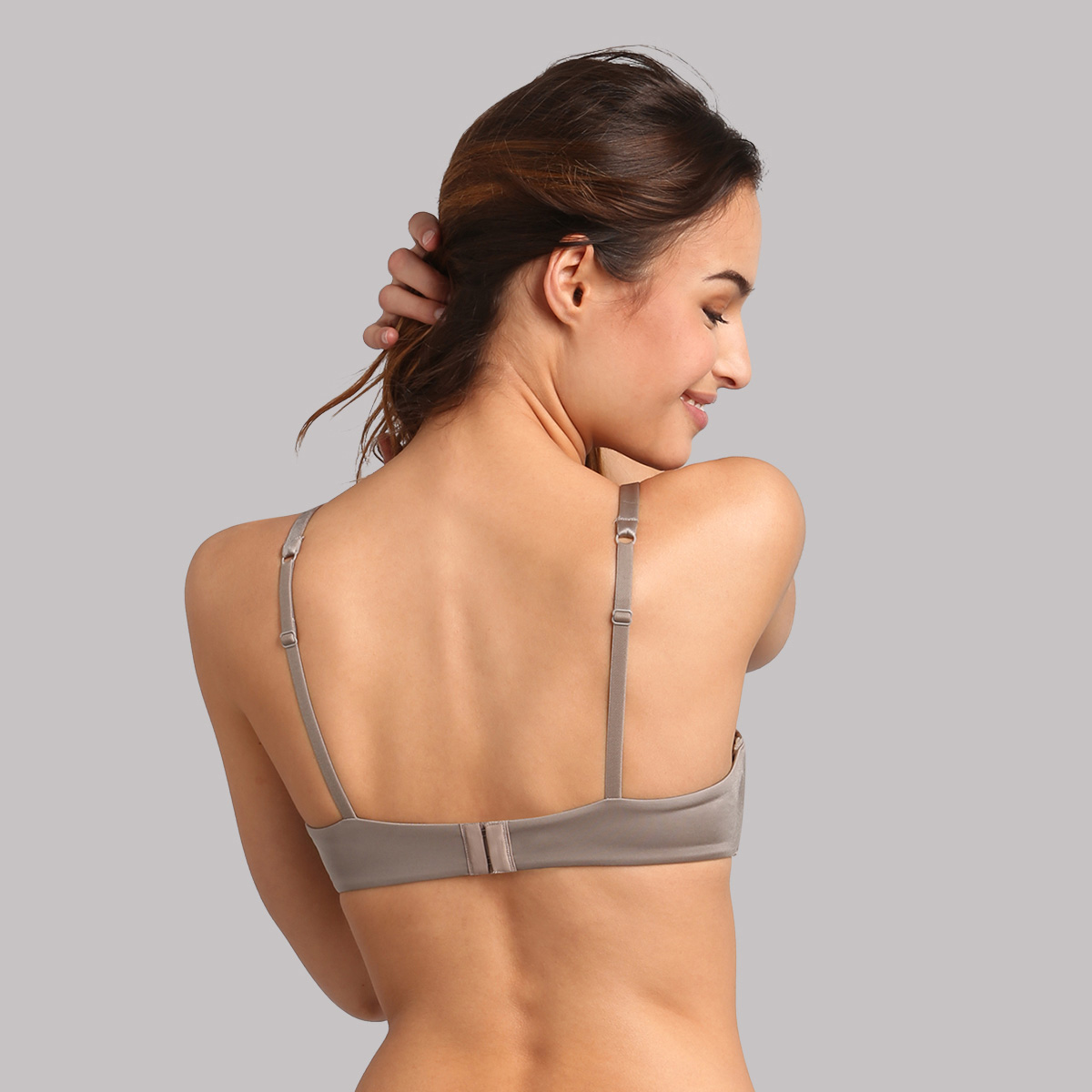 Soutien-gorge aux armatures amovibles taupe 24h Soft Absolu , , PLAYTEX