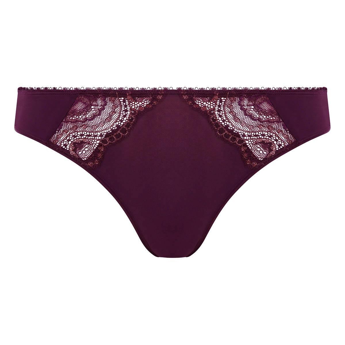 Culotte mini violette et doré Flower Elegance, , PLAYTEX