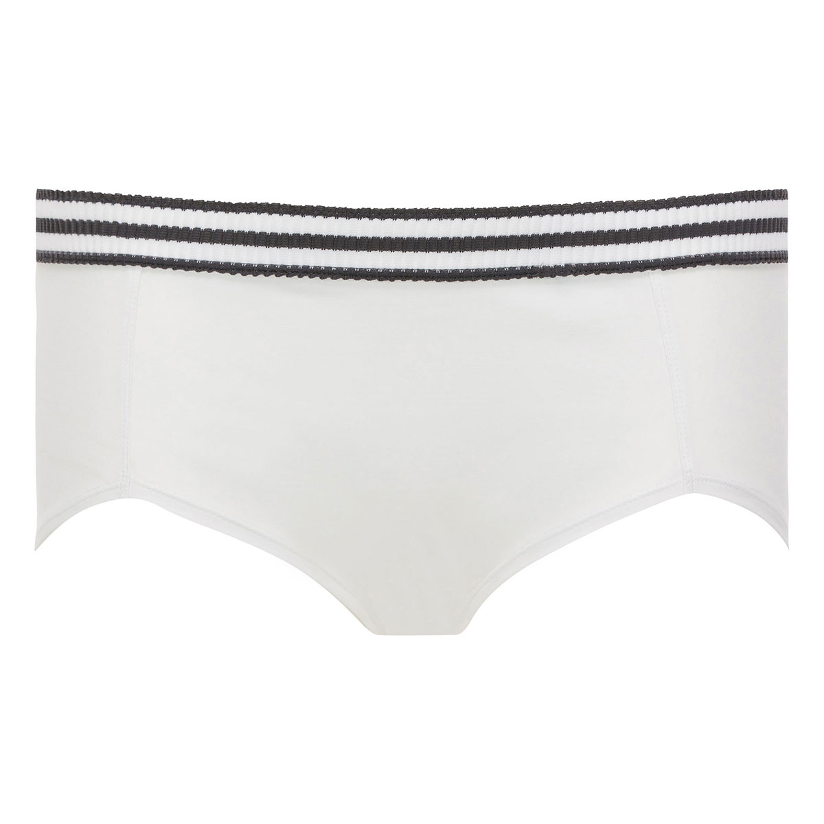 Shorty blanc & gris- Sporty Chic-PLAYTEX