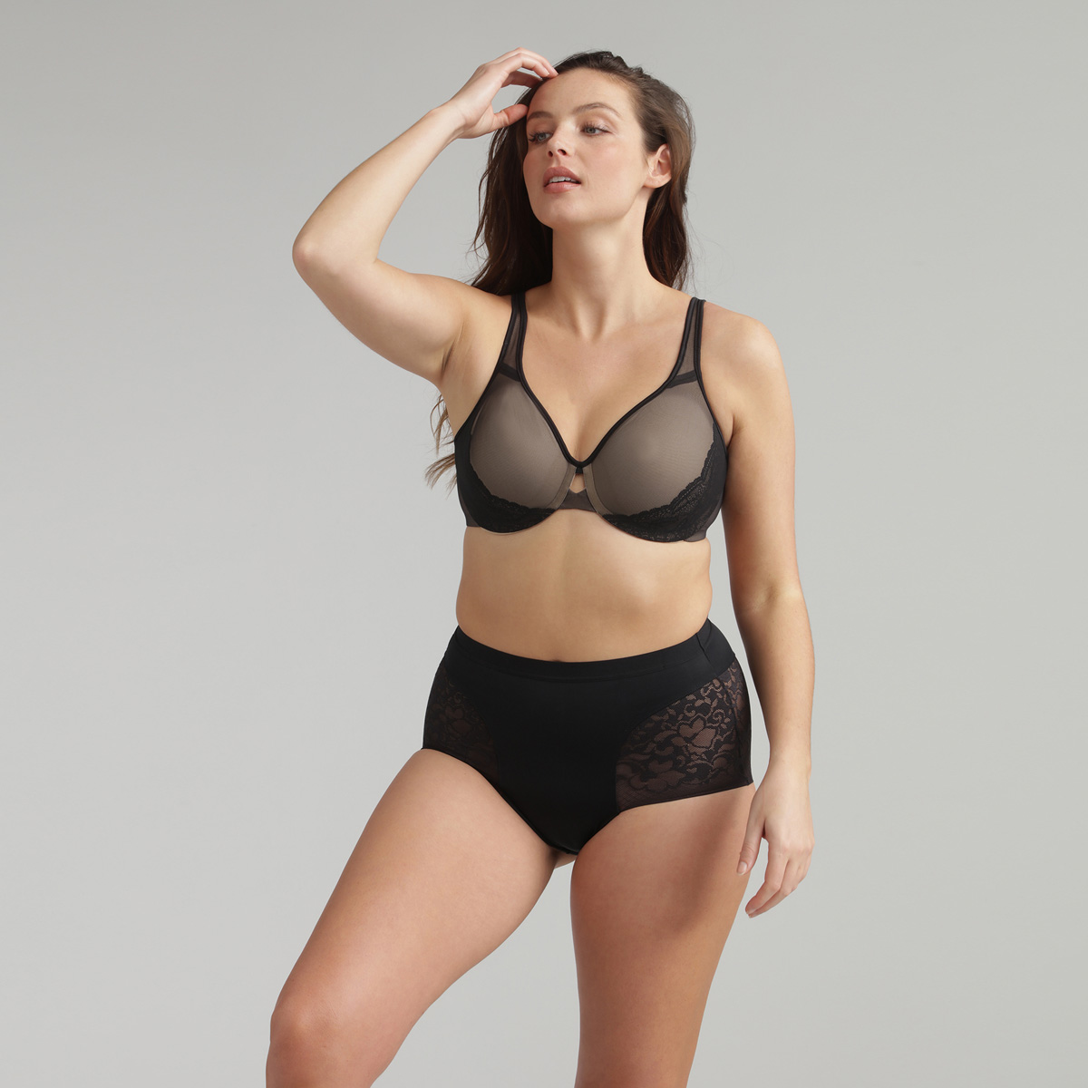 Culotte Maxi noire - Expert in Silhouette, , PLAYTEX
