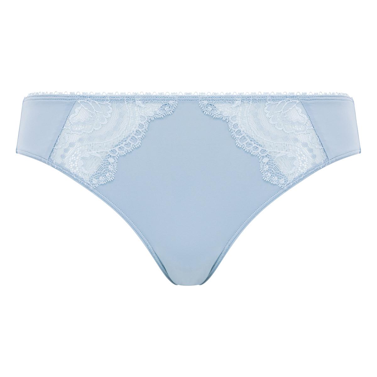 Culotte dentelle Mini gris bleuté - Flower Elegance, , PLAYTEX
