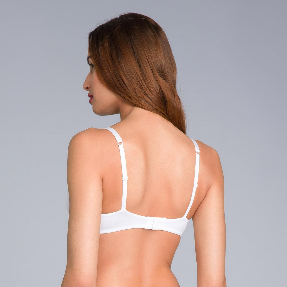 Soutien-gorge blanc armatures amovibles – 24h Soft Absolu-PLAYTEX