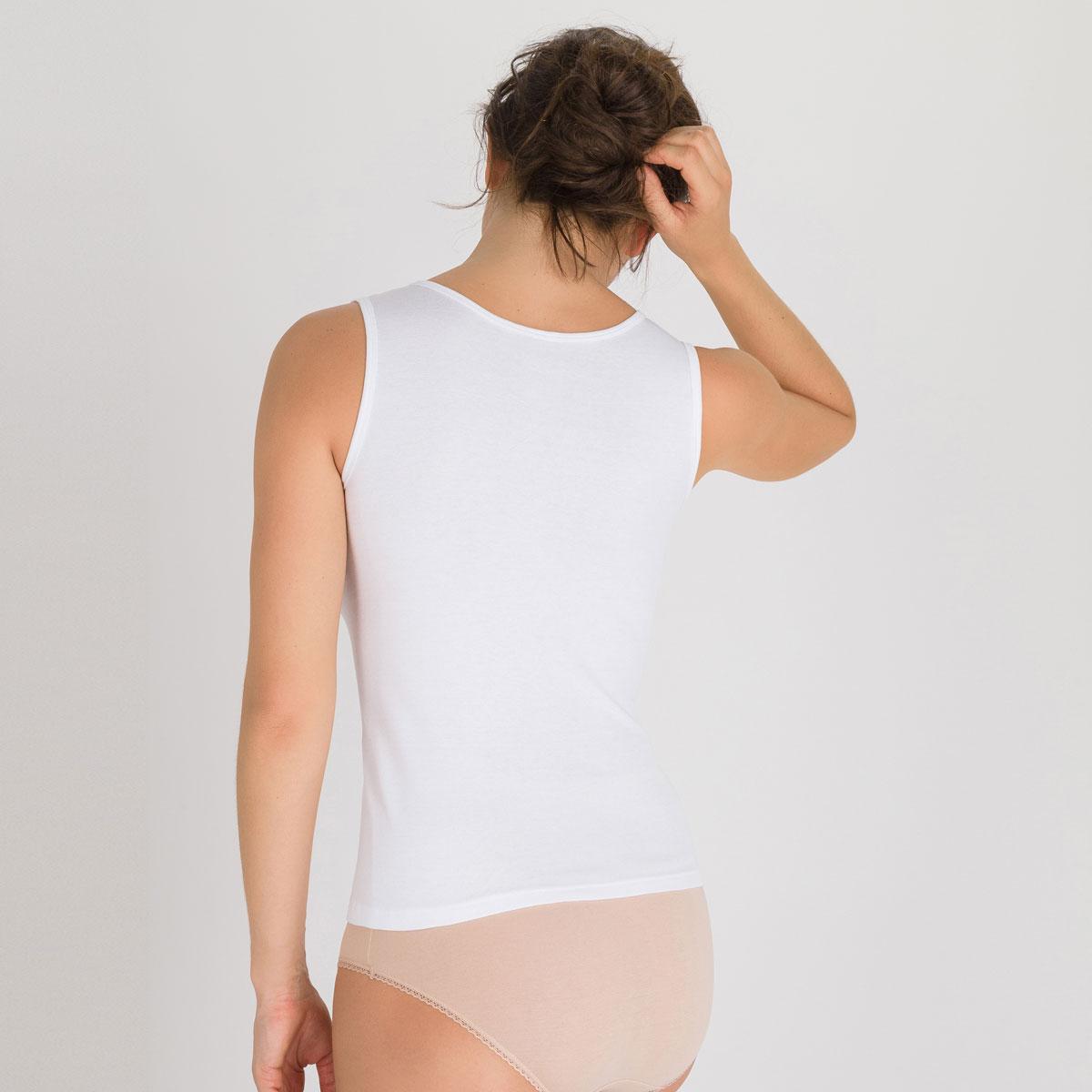 Débardeur blanc - Cotton Liberty-PLAYTEX