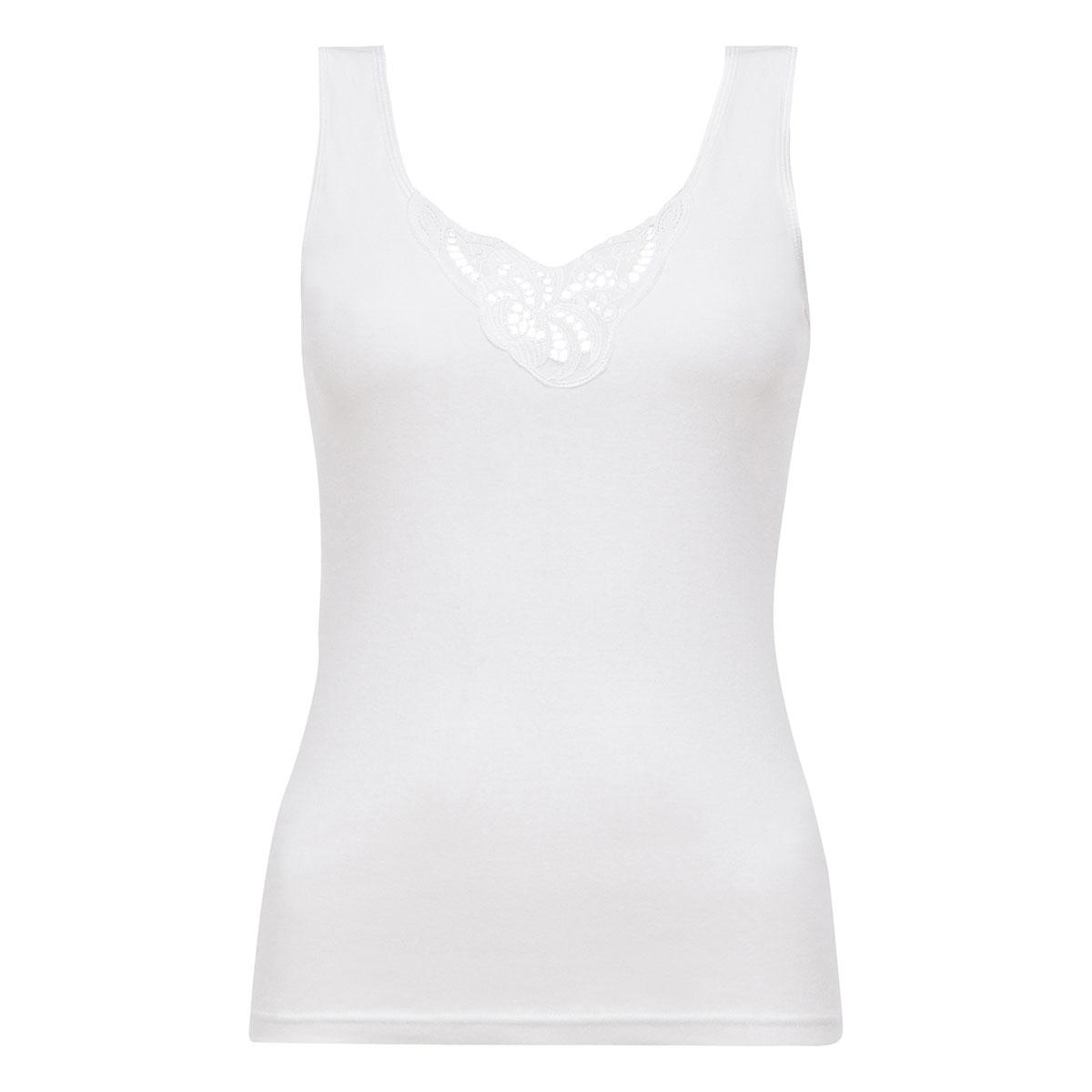 Débardeur blanc - Cotton Feminine-PLAYTEX