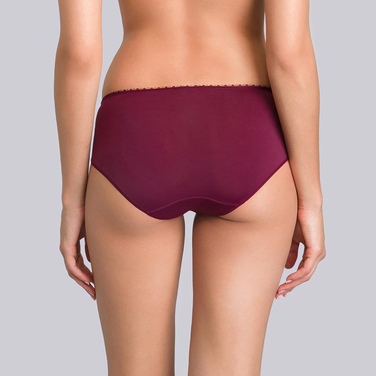 Culotte Midi violette bordeaux - Flower Elegance-PLAYTEX