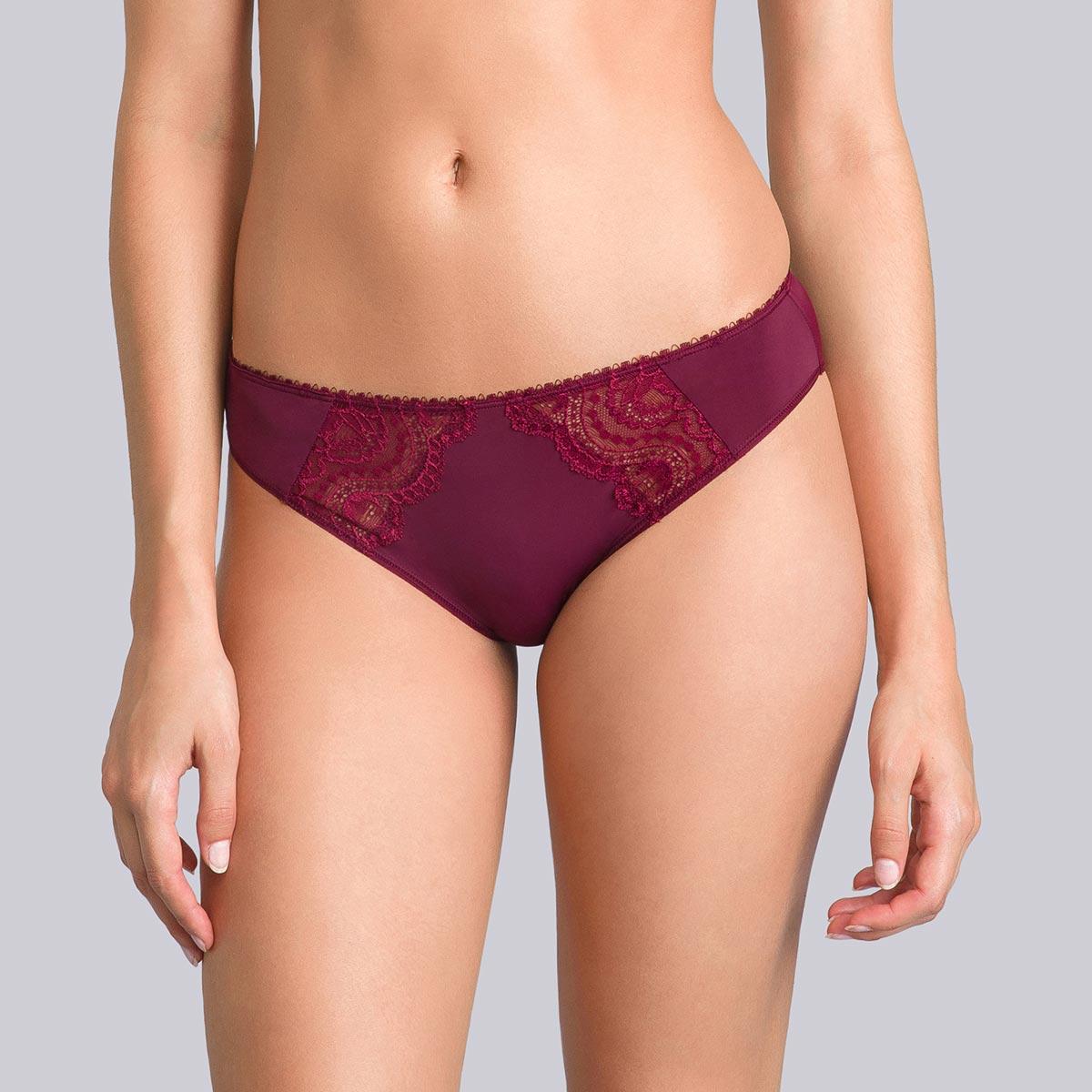 Culotte Mini violette bordeaux - Flower Elegance-PLAYTEX