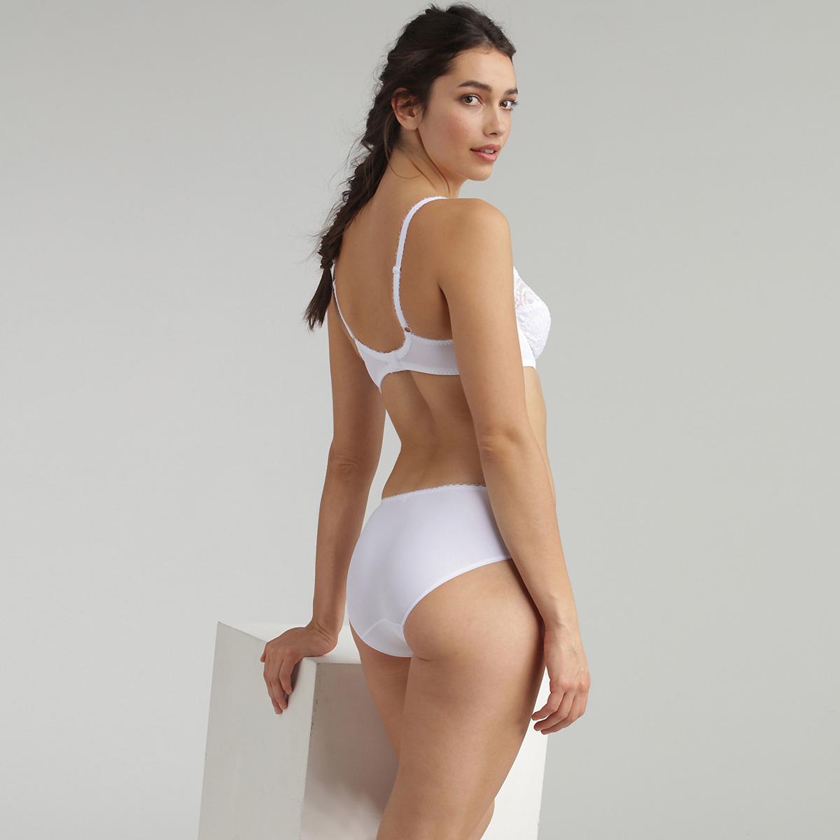 Soutien-gorge balconnet blanc - Flower Elegance, , PLAYTEX