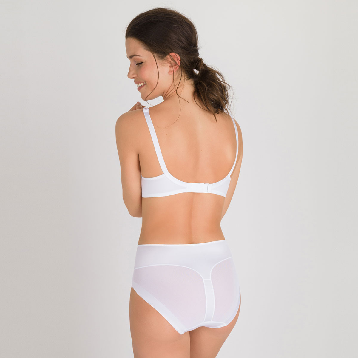 Culotte Maxi invisible blanche  - Perfect Silhouette, , PLAYTEX