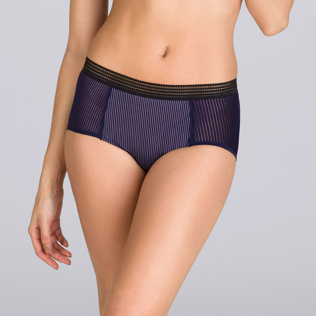 Shorty marine & noir - Smoking Chic-PLAYTEX