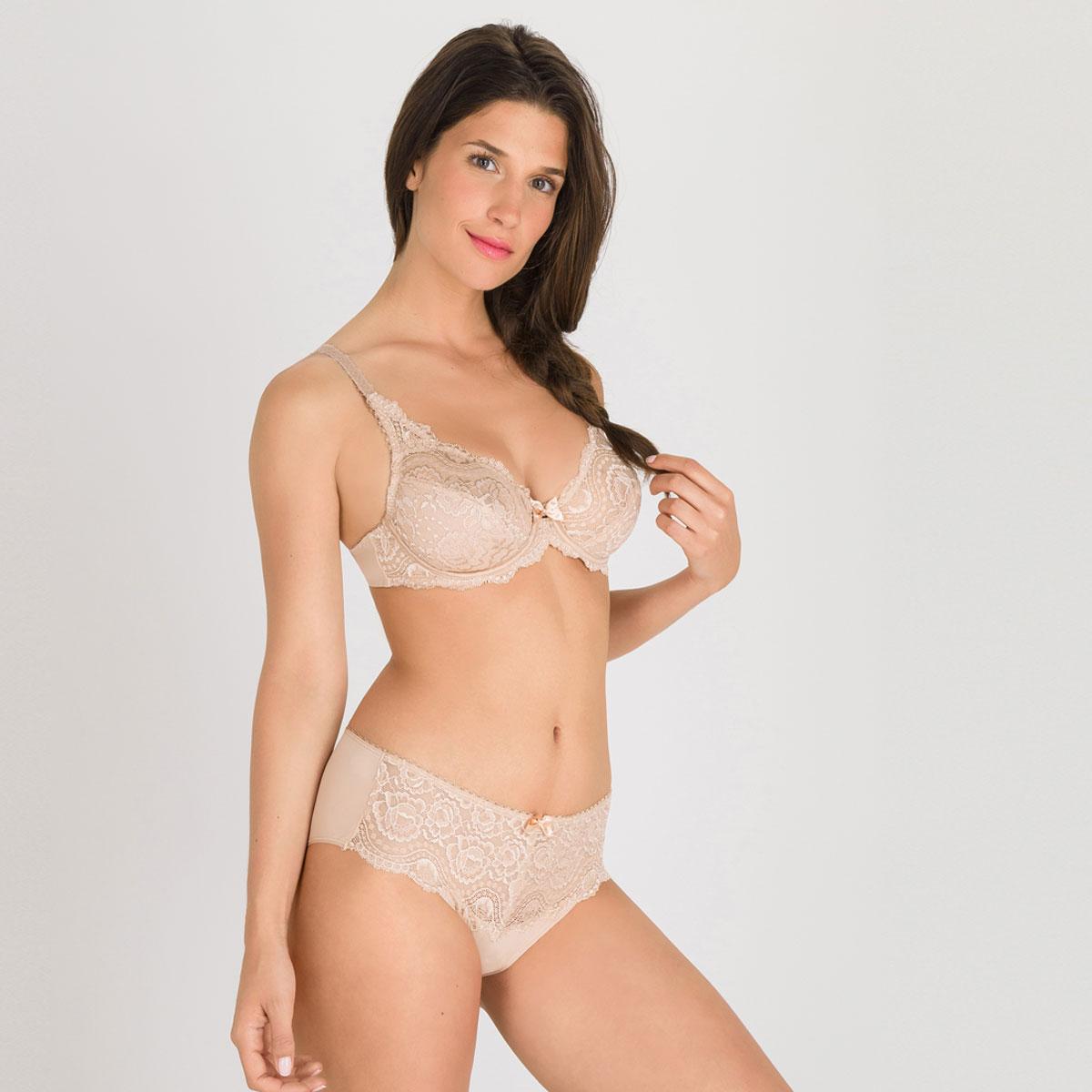 Soutien-gorge emboîtant beige - Flower Elegance-PLAYTEX