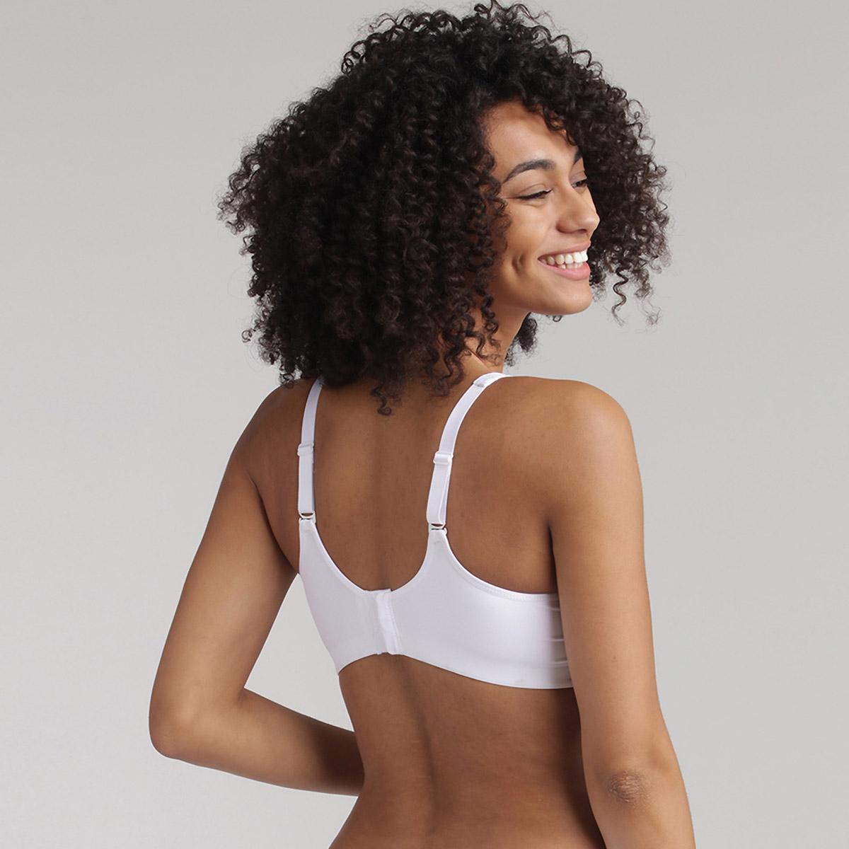 Soutien-gorge sans armatures blanc - Feel Good Support, , PLAYTEX