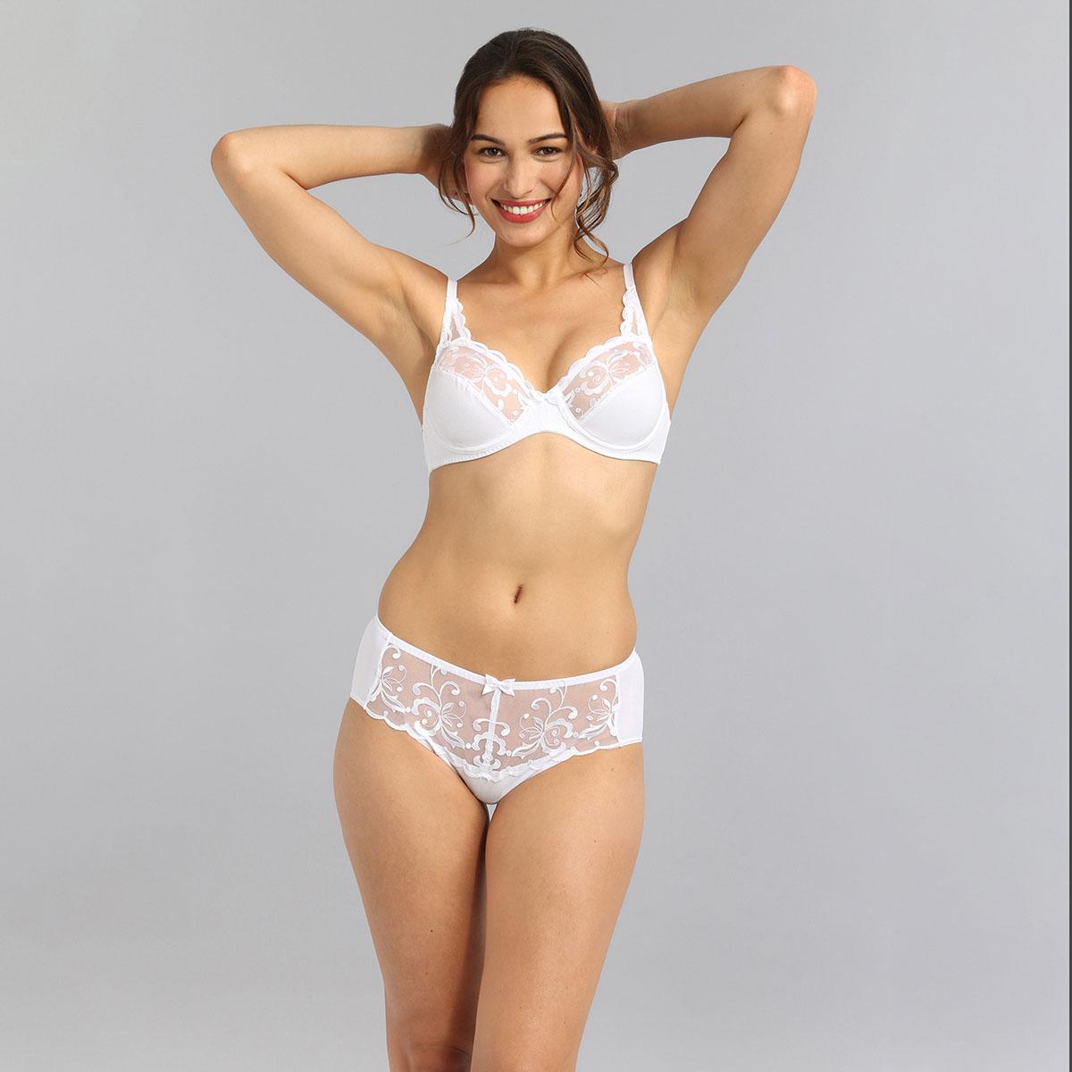 Soutien-gorge avec armatures blanc Essential Elegance Broderie, , PLAYTEX