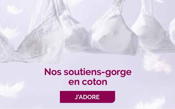 SOUTIENS-GORGE COTON