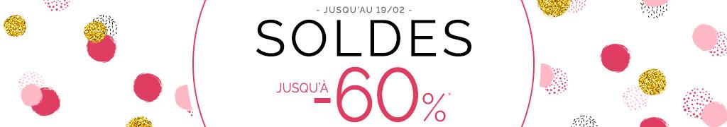 Soldes - Jusqu'à -60%*