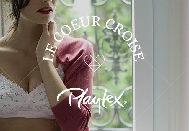 Playtex, le coeur croisé