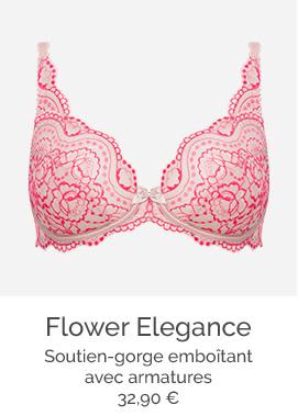 Flower Elegance - Soutien-gorge emboîtant